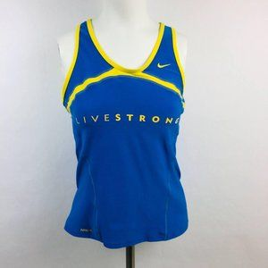 Nike Fit Dry Womens Livestrong Racerback Tank Top